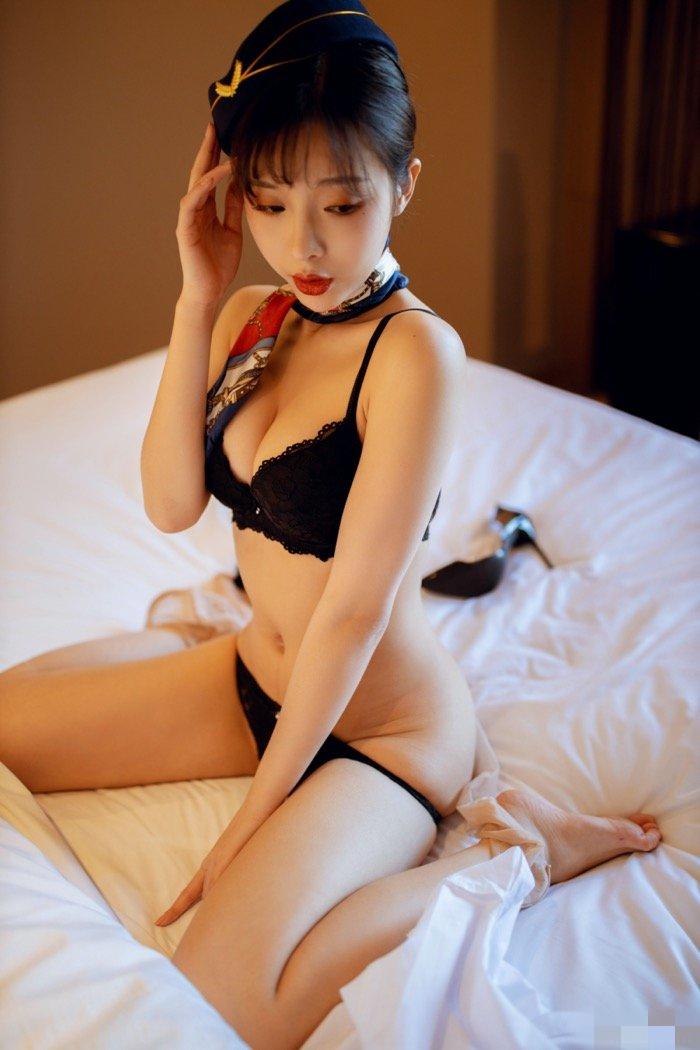 性感美女陈小喵空姐制服诱惑销魂
